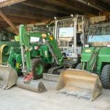Maschinenpark für kleine Baustellen