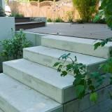 Freistehende Treppenanlage